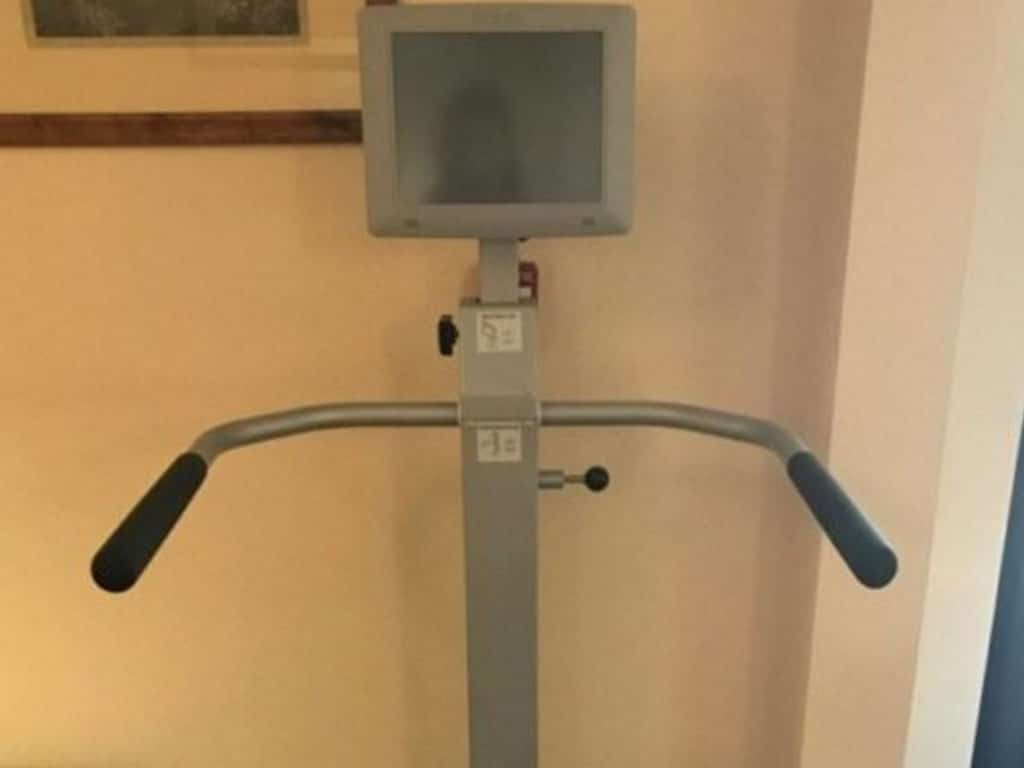A weight measuring machine